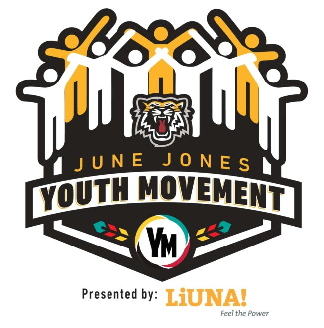 June Jones Youth Movement Logo