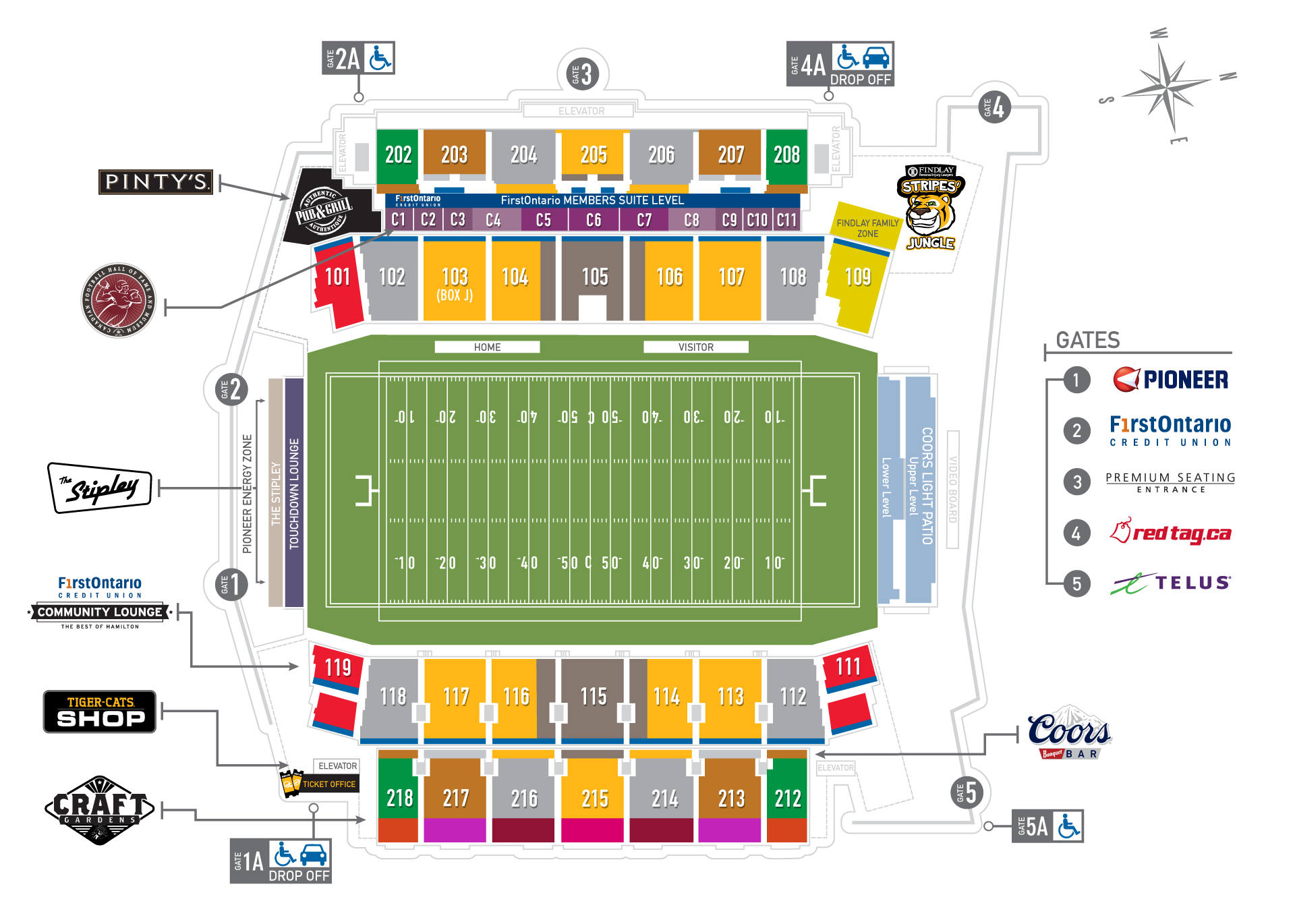 Tim Hortons Field Hamilton Tiger Cats