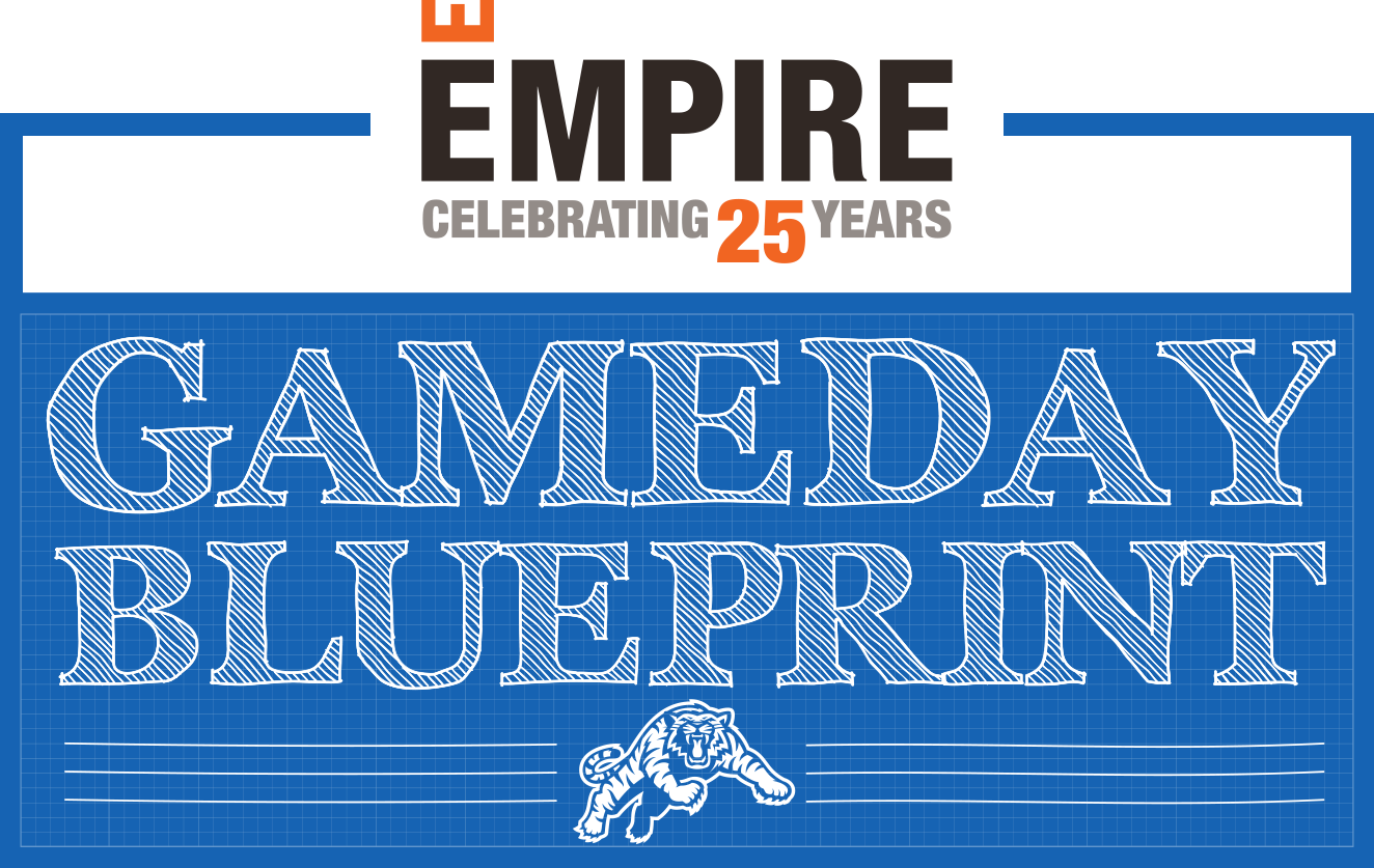 Gameday blueprint june 1 vs toronto hamilton tiger cats empire blueprint property mark 20 malvernweather Image collections